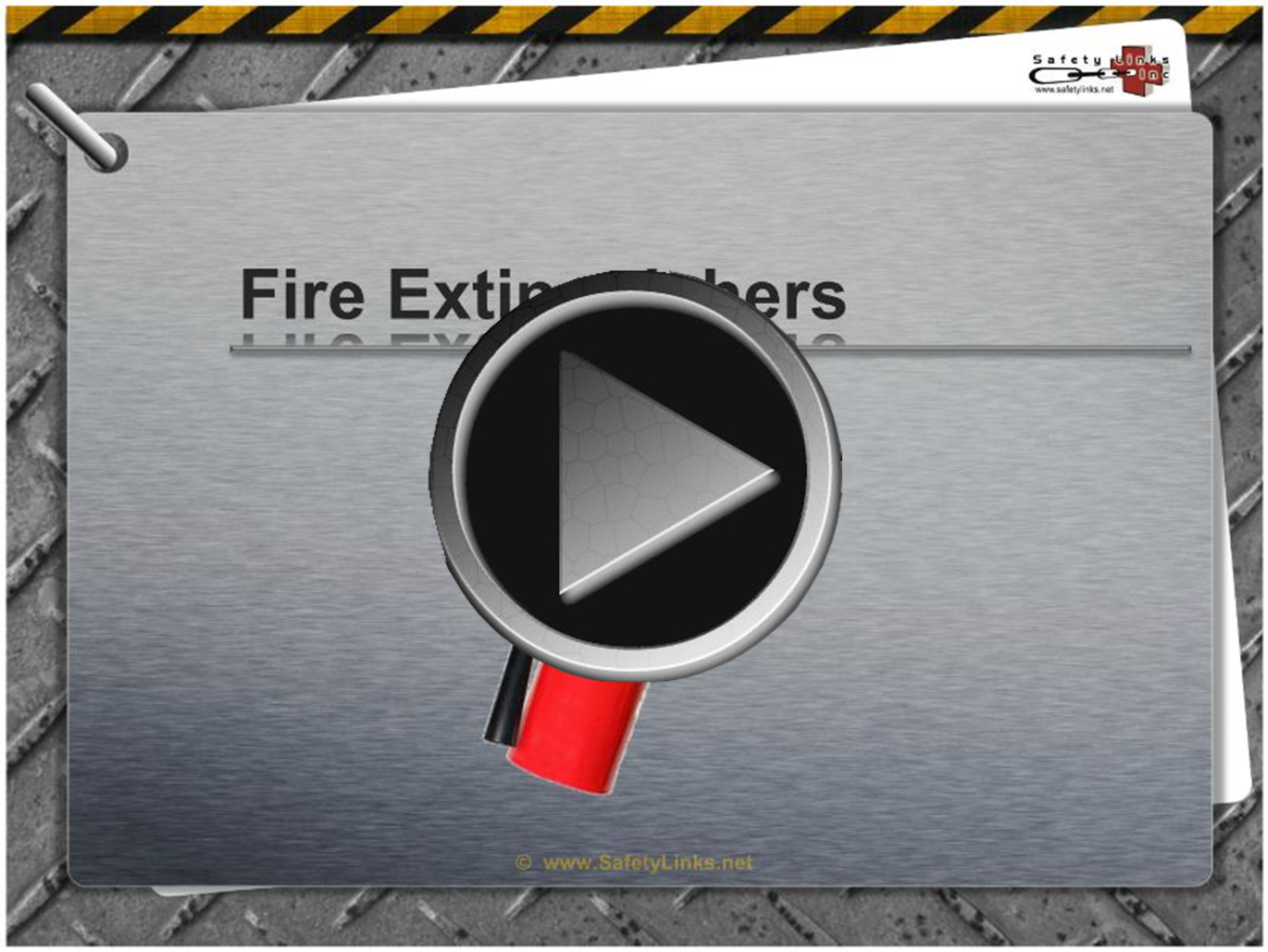 Safety Tip – Fire Extinguisher Training