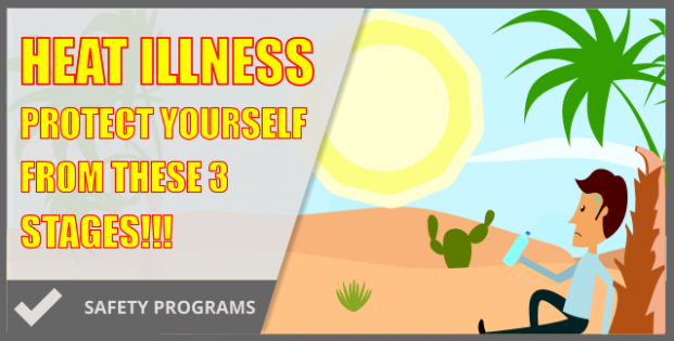 Heat Illness – The Guide To Identify & Treat!